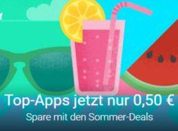 Google Play: Top-Apps für pauschal 50 Cent