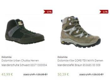 Goretex: Schuhe und Stiefel via Outlet46 ab 43,99 Euro frei Haus