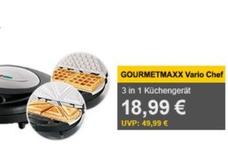 Allyouneed: Gourmetmaxx Vario Chef 3-in-1 als B-Ware für 18,99 Euro