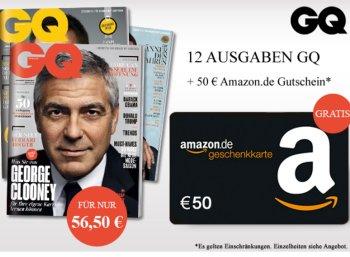 GQ: Jahresabo für rechnerisch 6,50 Euro dank Gutschein