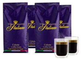 Wieder da: Vier Kilo Kaffeebohnen & zwei Thermogläser für 29,99 Euro