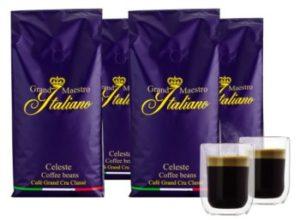 """Kaffeevorteil.de: Vier Kilo Kaffeebohnen """"Grand Maestro"""" plus Gläser für 29,99 Euro"""