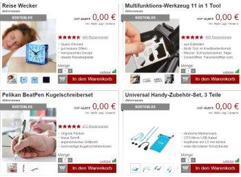 Druckerzubehoer: Zwölf Artikel für zusammen 0 Euro plus Versand