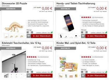 Druckerzubehoer.de: Gratis-Aktion mit Dino-Puzzle und Spielset