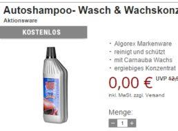 Gratis: Autoshampoo & Reiseapotheke bei Druckerzubehoer.de