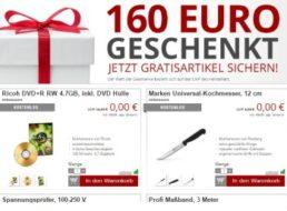 Druckerzubehoer.de: Gratis-Aktion mit 16 Artikeln für 0 Euro