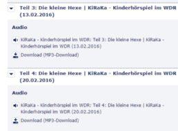 """Gratis-Hörspiel: """"Die kleine Hexe"""" beim WDR zum kostenlosen Download"""