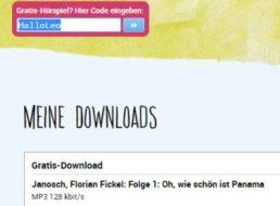 """Gratis: Hörbuch """"Oh, wie schön ist Panama"""" zum kostenlosen Download"""