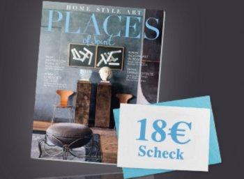 """Gratis: """"Places of Spirit"""" dreimal zum Nulltarif frei Haus dank Scheck"""