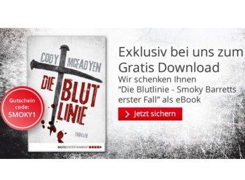 """Gratis: Thriller """"Die Blutlinie"""" als eBook bei Hugendubel zum Nulltarif"""
