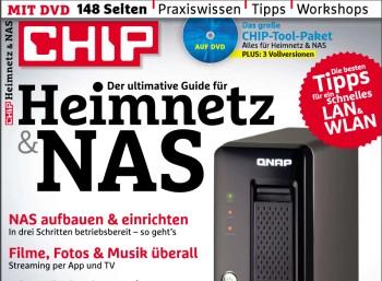 """Gratis: Sonderheft """"Heimnetz & NAS"""" von Chip zum kostenlosen Download"""