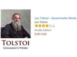 Gratis: Tolstois gesammelte Werke als eBook für 0 Euro