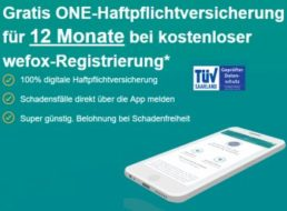 Gratis: Haftpflichtversicherung via wefox mit Bestchoice-Gutschein über 10 Euro