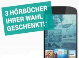 Gratis: Drei Audible-Hörbücher für Telekom-Kunden bis Dienstag