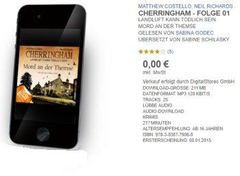 "Gratis: Hörbuch ""Cherringham - Folge 1"" bei Lübbe zum Download"