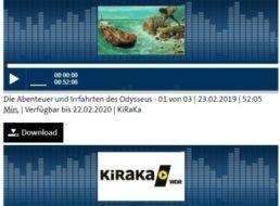 """Gratis: Hörspiel """"Die Abenteuer und Irrfahrten des Odysseus"""" zum Download"""