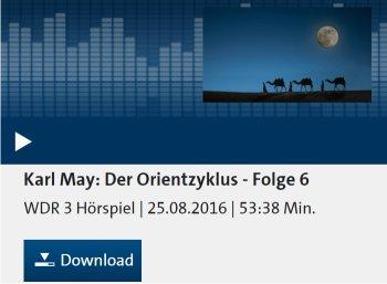 """Gratis: Hörspiel """"Der Orientzyklus"""" von Karl May zum kostenlosen Download"""