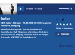 """Gratis: Hörspiel """"Tschick"""" beim NDR für einen Monat zum kostenlosen Download"""