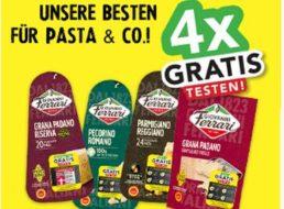 Gratis: Käse von Giovanni Ferrari vier mal kostenlos testen
