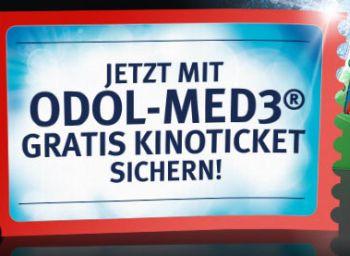 Gratis-Kinoticket beim Kauf von drei Packungen Odol Med 3