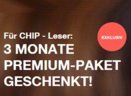 Gratis: 3 Monate Premium-Paket von TV-Spieflim im Wert von 29,97 Euro