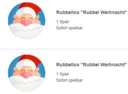 Gratis: Zwei Rubellose zu Weihnachten bei Lottoland geschenkt