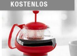 Druckerzubehoer.de: Teekanne mit Sieb für 0 Euro plus Versand