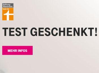 """Gratis: Testbericht bei """"Stiftung Warentest"""" für Telekom-Kunden zum Nulltarif"""