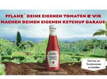 Gratis: Tomatensamen von Heinz Ketchup zum Nulltarif frei Haus