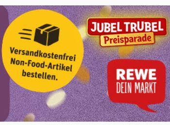 Rewe: Non-Food-Artikel mit Gratis-Versand für wenige Tage