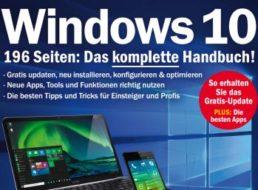 """Gratis: """"PC Welt Sonderheft Windows 10"""" mit 196 Seiten zum Download"""