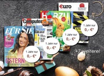 Knaller: Zeitschriftenabo geschenkt zum Schnäppchenabo ab 9,90 Euro