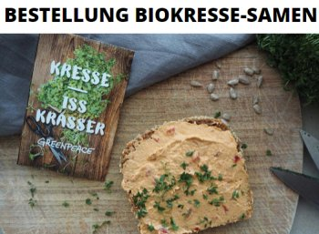 Gratis: Bio-Kresse bei Greenpeace zum Nulltarif frei Haus