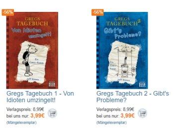 "Terrashop: ""Gregs Tagebuch"" ab 3,99 Euro frei Haus, Fanartikel ab 2,99 Euro"
