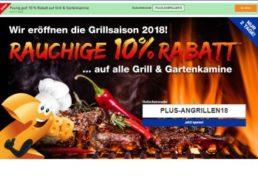 Plus: 10 Prozent Grill-Rabatt bis Dienstag abend