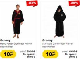 Sportspar: Bademäntel mit Star-Wars- und anderen Motiven für je 10 Euro