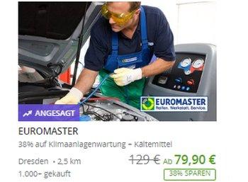 Groupon: Klimaanlagen-Wartung für 79,99 Euro
