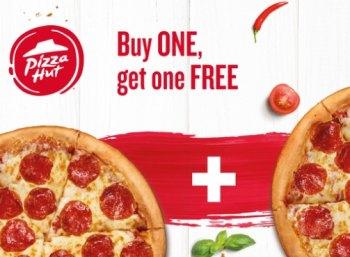Wieder da: 2-für-1-Pizza-Angebot bei Pizza-Hut via Groupon