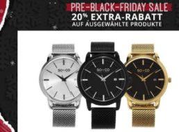 Groupon: 20 Prozent Rabatt auf ausgewählte Modeartikel, Uhren und Technik