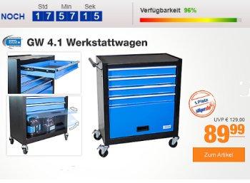 Plus: Güde GW 4.1 Werkstattwagen mit 17 Euro Preisvorteil für 82,79 Euro