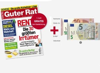 """""""Guter Rat"""": Sechs Ausgaben für 15,60 Euro mit Scheck über 15 Euro"""