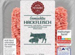 Aldi: Hackfleisch-Rückruf wegen Plastikteilen