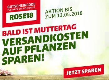 Hagebau.de: Gratis-Versand für alle Pflanzen bis zum 13. Mai