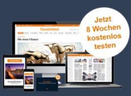 Gratis: Handelsblatt Digitalpass im Wert von 62 Euro mit automatischem Ende
