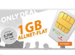 Vodafone: Allnet-Flat mit GByte-Datenflat für nur 6,99 Euro im Monat