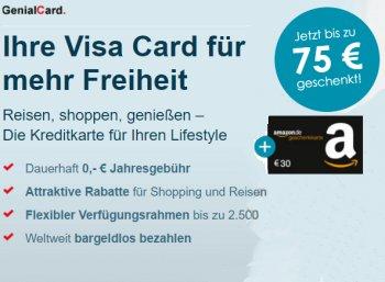 Knaller: 105 Euro geschenkt zur dauerhaft kostenlosen VisaCard der Hanseatic Bank
