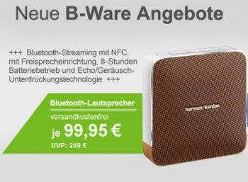Bluetooth-Lautsprecher: Harman/Kardon Esquire als B-Ware für 99,95 Euro