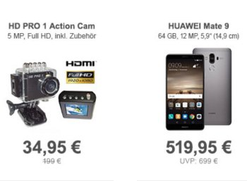 Allyouneed: Actioncam HD PRO 1 für 34,95 Euro frei Haus
