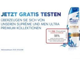 "Gratis: Packung ""Head & Shoulders"" dank Cashback komplett gratis"
