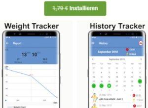 """Gratis: App """"Heimtraining Gym Pro"""" für 0 statt 1,79 Euro"""